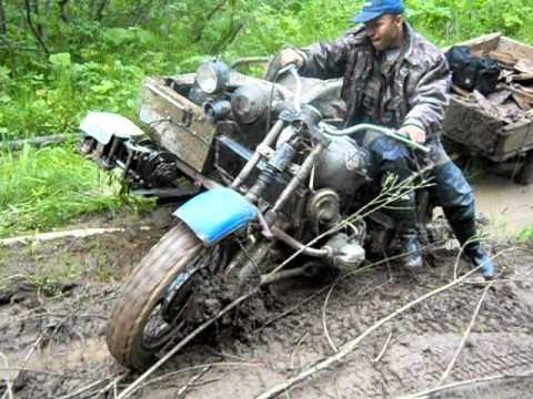 полнопривадный мотоцикл урал.avi - Видео онлайн