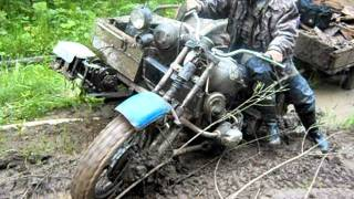 мотоцикл урал с полным приводом видео