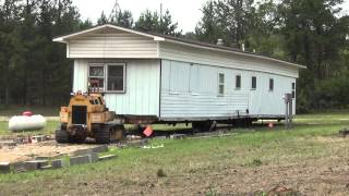 Moving the Trailer House