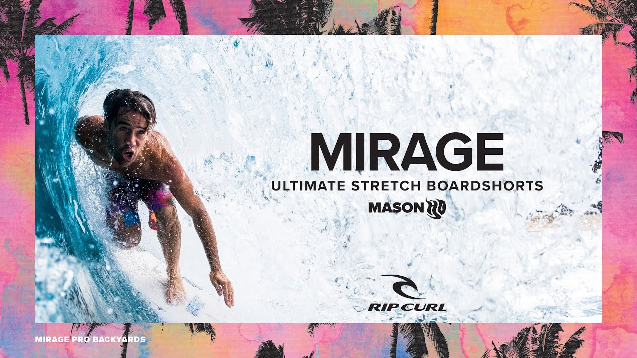 Mason Ho Mirage Pro Backyards Boardshorts | Made For Waves, Summer 2021