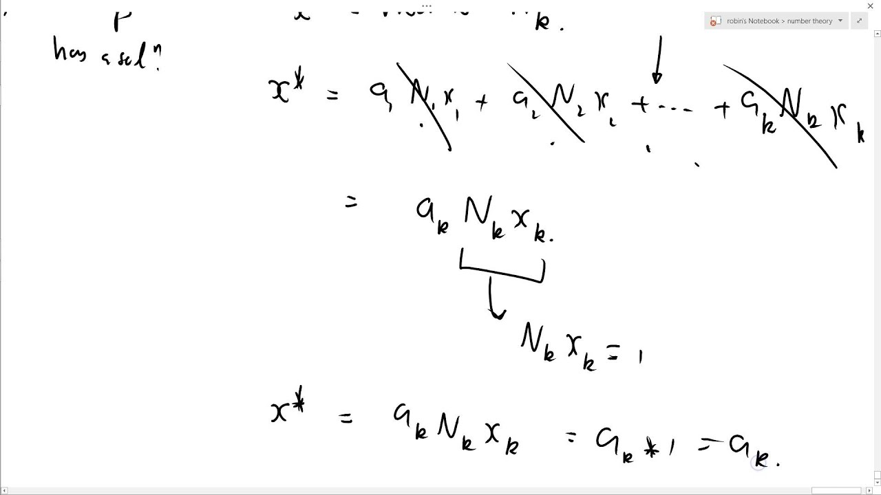 chinese remainder theorem The polynomial remainder theorem allows us to determine whether a linear expression is a factor of a polynomial expression easily check it out.