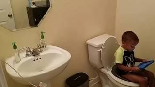 Potty training when you work from home