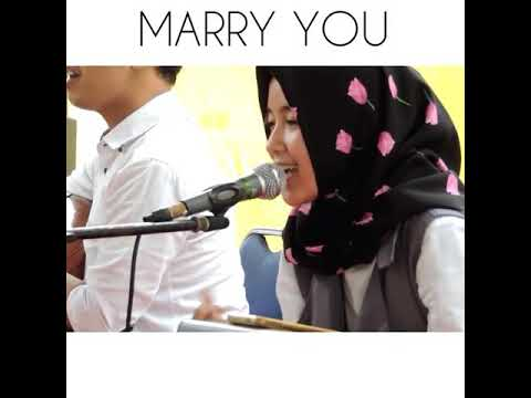 MARRY YOU - Cover By Nissa Sabyan