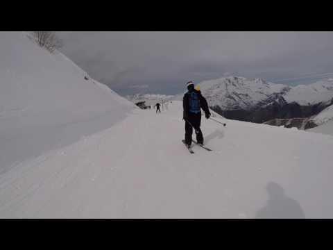 Les Deux Alpes 2017 - Jandri 4, 3, 2, 1 descent