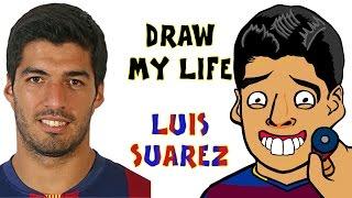 Luis Suarez - DRAW MY LIFE (El Clasico 2016 preview l BITE l top moments l incidents l best bits)