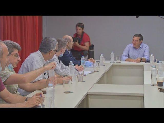 <span class='as_h2'><a href='https://webtv.eklogika.gr/synantisi-toy-proedroy-toy-syriza-alexi-tsipra-me-tin-oiele' target='_blank' title='Συνάντηση του προέδρου του ΣΥΡΙΖΑ, Αλέξη Τσίπρα, με την ΟΙΕΛΕ'>Συνάντηση του προέδρου του ΣΥΡΙΖΑ, Αλέξη Τσίπρα, με την ΟΙΕΛΕ</a></span>