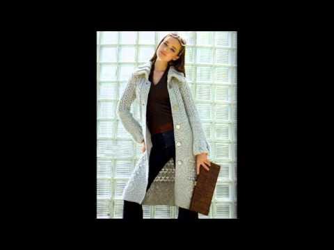 Вязаное пальто (модели с описанием)