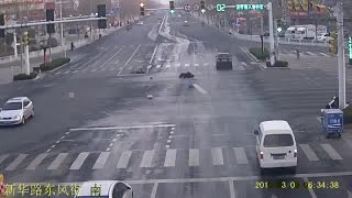 people turn a blind eye to a hit and run victim in the middle of the road