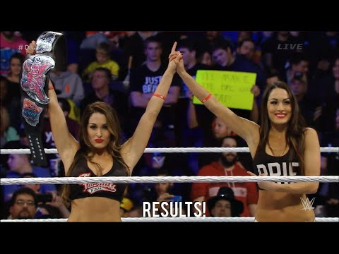 WWE Survivor Series 2014 Nikki Bella wins the Divas ...