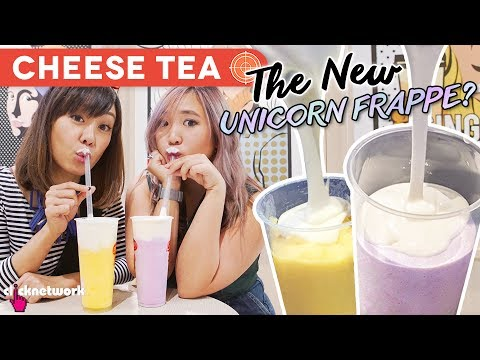 Cheese Tea - The New Unicorn Frappe? - Hype Hunt: EP26