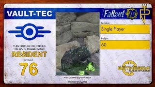 Let's Play Fallout 76   Single Player #60 Mit der Powerrüstung zur Firebase Hancock