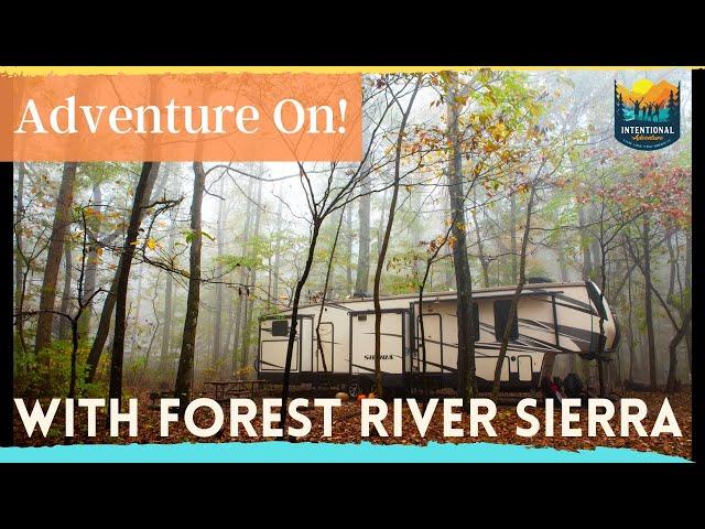 Adventure On! | Forest River Sierra 384QBOK | Fulltime Travel Adventure
