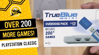 Overdose Pack True Blue Mini - Add Over 200 More Games to Your PlayStation Classic!