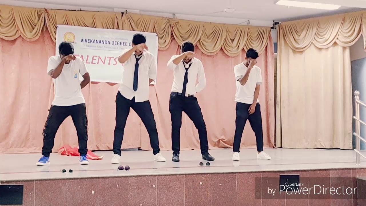 ENTERTAINMENT ADDA # KANNADA & HINDI SONG #LAZY dance #Must watch