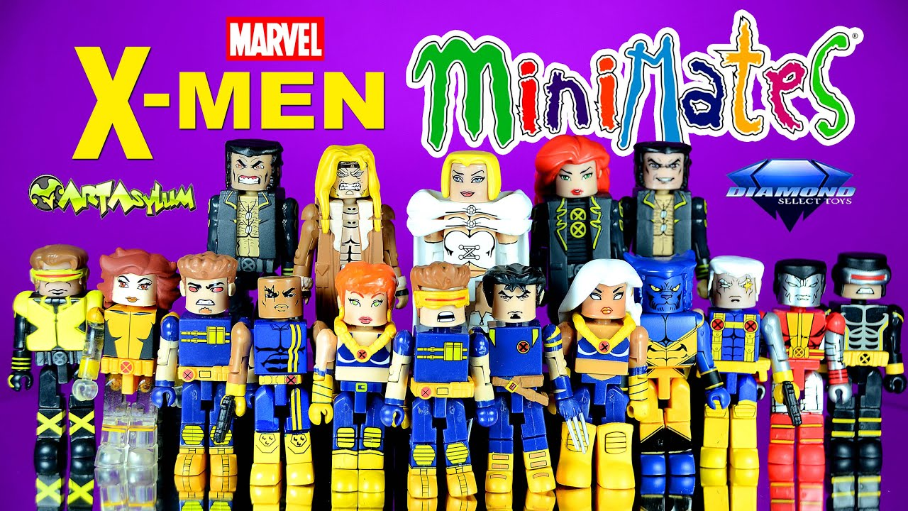 Marvel Minimates Series 3 Ultimate X-Men Logan