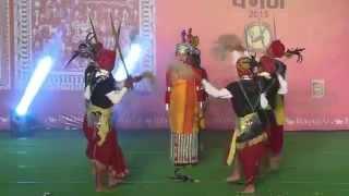 KHASI DANCE : MEGHALAYA   NATIONAL TRIBAL FESTIVAL VANAJ 2015