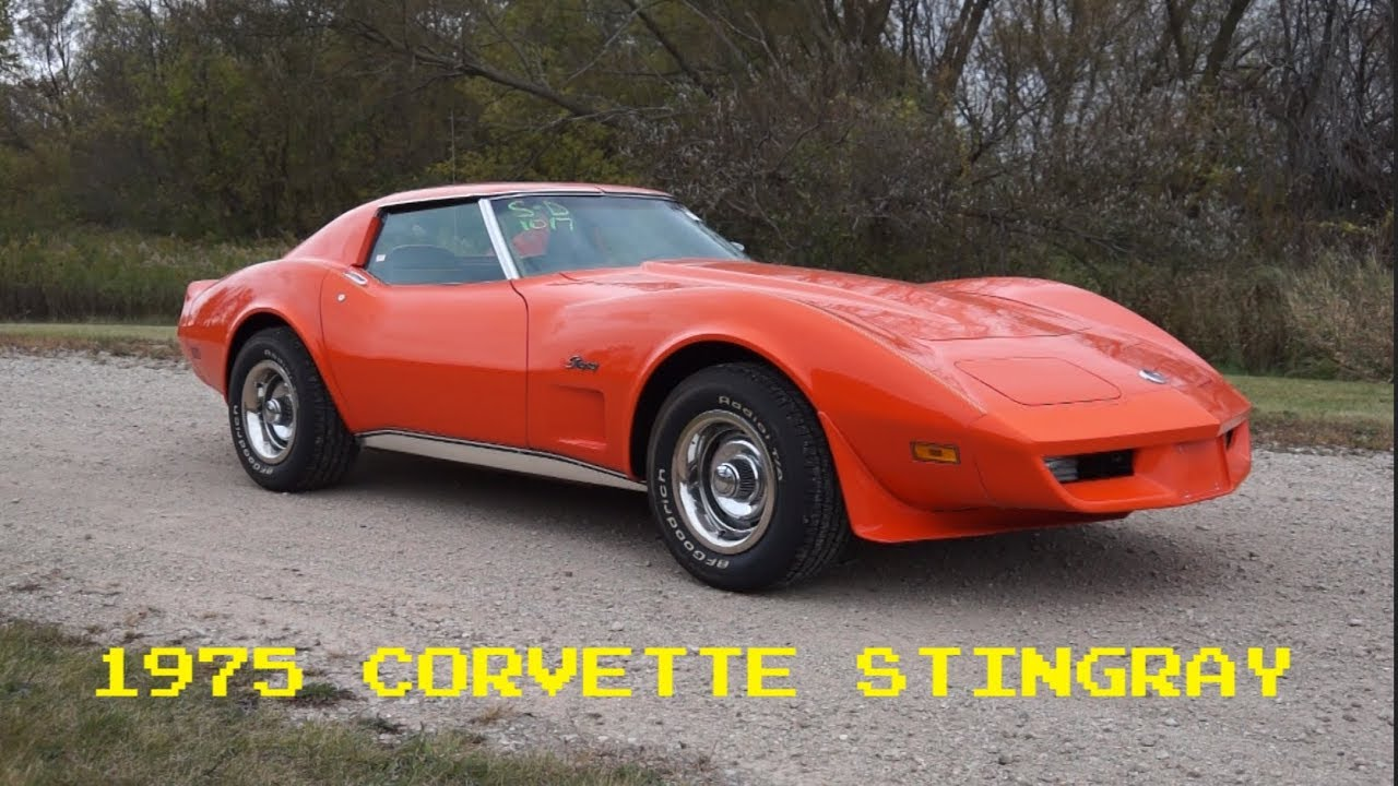 It\'s Cool Old Stuff! 1975 Corvette Stingray for sale with just 48k ...