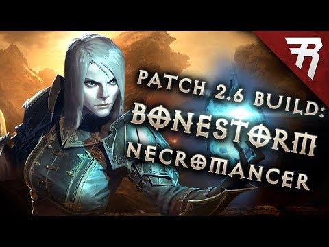 Diablo  Necromancer Bonestorm Build