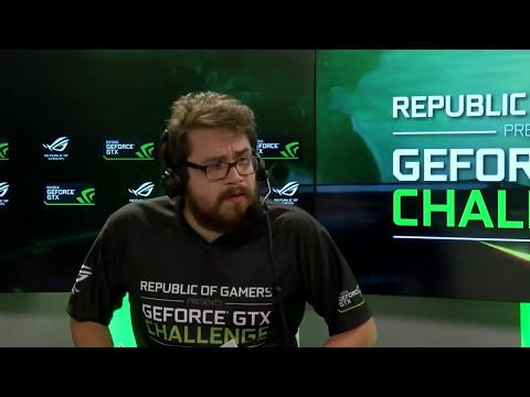 GeForce GTX Challenge 2017 - MisterMV & ZeratoR - Hearthstone - Italie-France