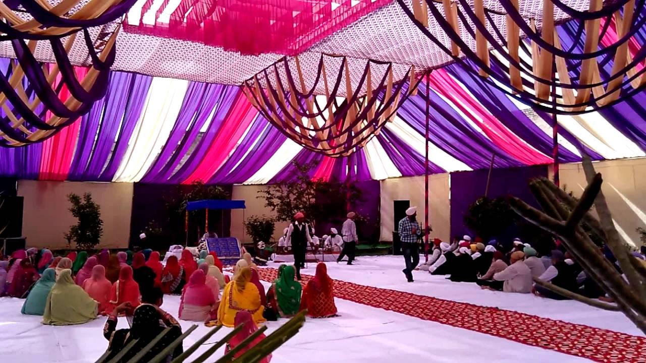 & Decorated by Guru Nanak Tent HouseGoraya 9814027101 - YouTube