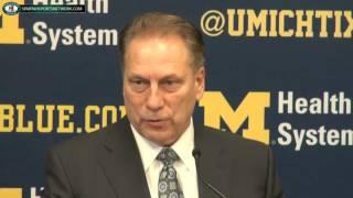 Michigan State 89 Michigan 73: Tom Izzo