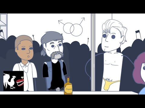 Rooster Teeth Animated Adventures - Bar Fights & Gay Bars