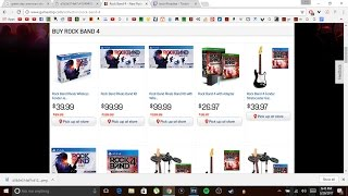 Gamestop Sale On Rock Band Rivals Full Band Kit And Guitar Bundle