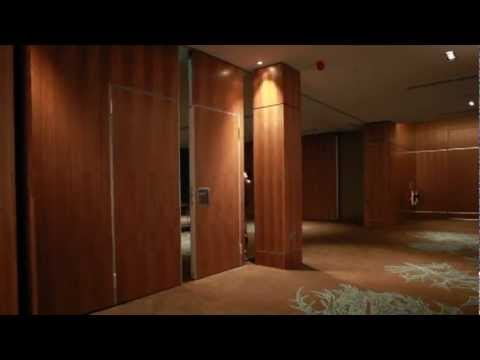 Dorma Variflex Movable Wall by Style Partitions at the Sheraton ...