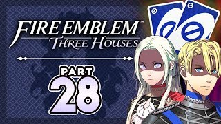 """Part 28: Let's Play Fire Emblem, Three Houses, Blue Lions, New Game+ - """"The Skippening"""""""