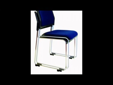 Steel Frame Stacking Conference Seating Chair
