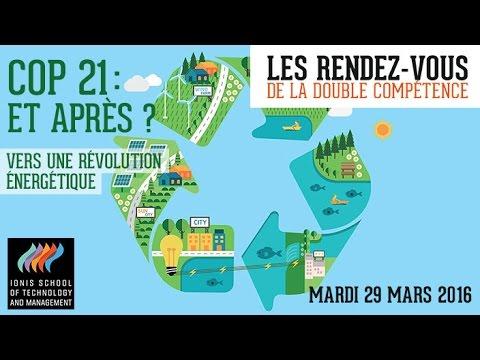 Rendez-vous de la double compétence : « COP 21 : et après ? Vers une révolution énergétique »