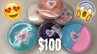 $100 BRUTALLY HONEST UNDERRATED SLIME SHOP REVIEW?! ft. BlushingBBSlimes