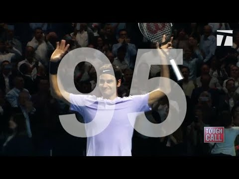 Tough Call - Will Federer Catch Connors' Record of 109 Career Titles?