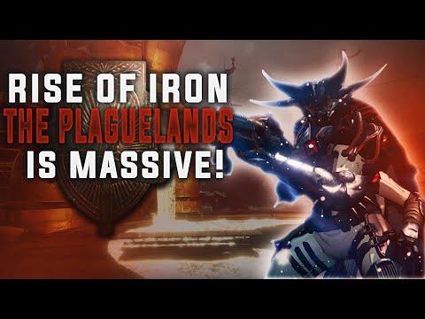 Destiny Rise of Iron. THE PLAGUELANDS IS MASSIVE! NEW PATROLS, PUBLIC EVENTS, SECRETS, AXES & MORE!