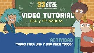33 Contest ONCE - Video tutorials ESO - FP Básica INGLÉS