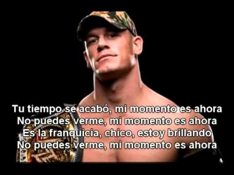 Jhon Cena My Time Is Now En Español De Wwe Letra Y Video