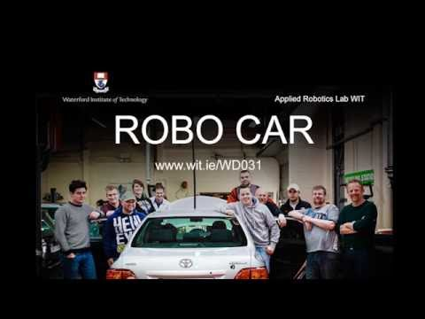 Waterford gets a Self Drive Car thanks to WIT electronic engineering students