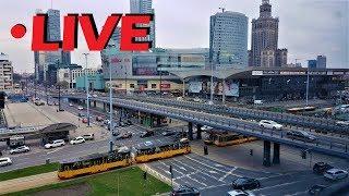 Warszawa - Traffic Monitoring - LIVE 24/7