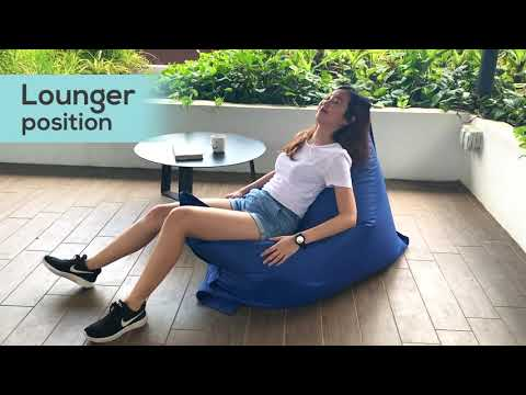 Versa Rectangle Versatile Bean Bag