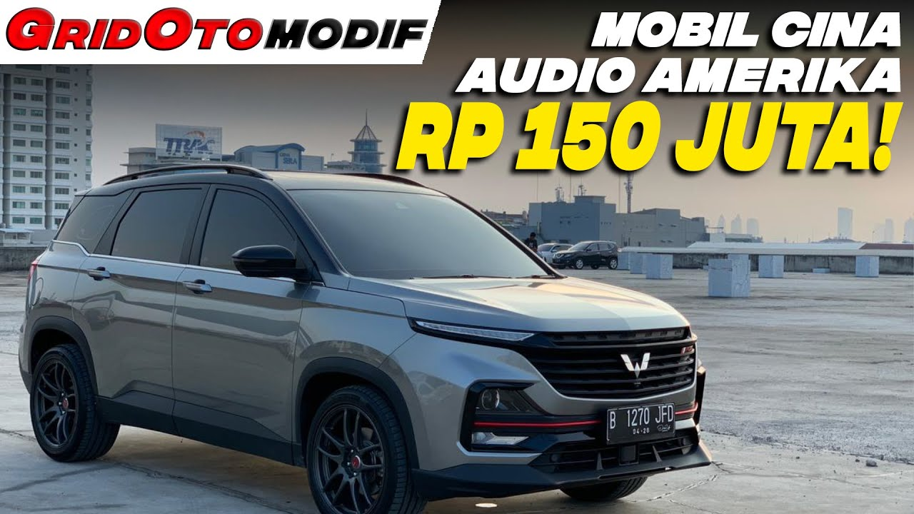 Copot Jok Baris Ketiga, Upgrade Audio Wuling Almaz RS Ini Pol Main Sound Quality | Modifikasi Mobil
