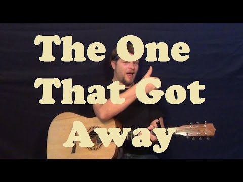 The One That Got Away (Katy Perry) Guitar Lesson Easy Strum Chords ...