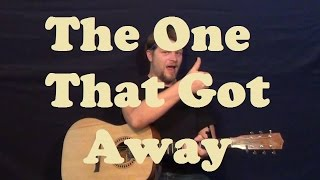 The One That Got Away (Katy Perry) Guitar Lesson Easy Strum Chords How to Play Tutorial
