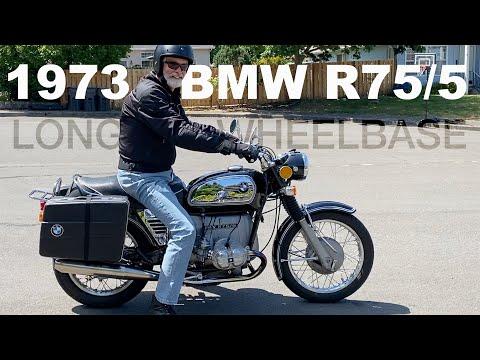 1973 BMW R75/5 - Long Wheel Base