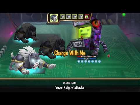 Monster Legends - CLOUD level 1-130 review combat - The Best Monster :v