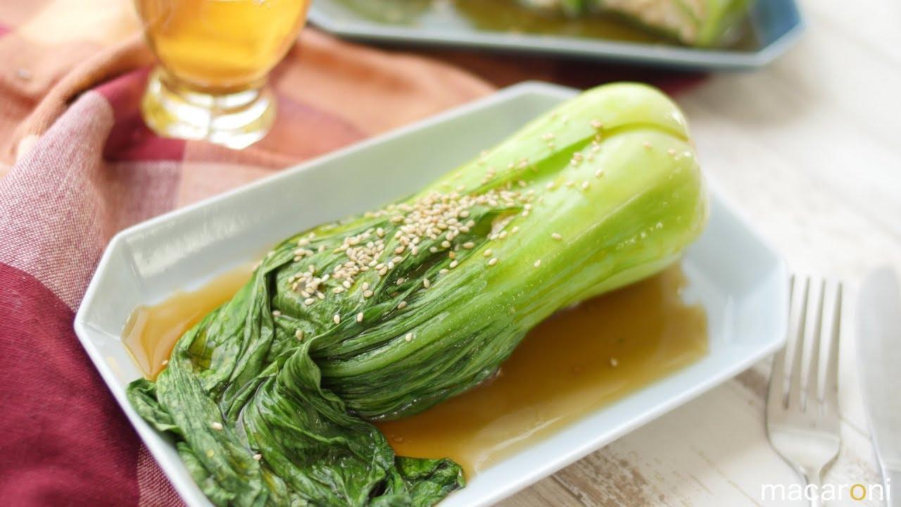 チンゲン 菜 ひき肉 あんかけ