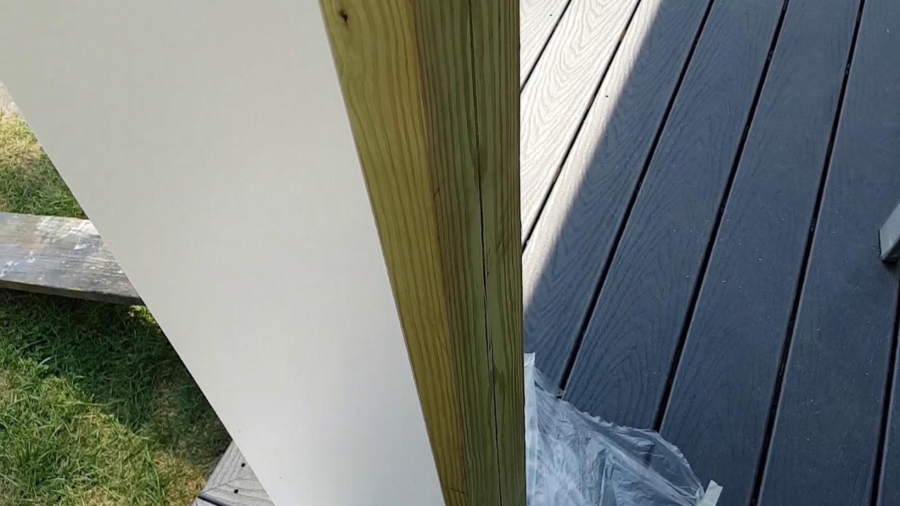 How To Install Azek 6x6 Column Wraps