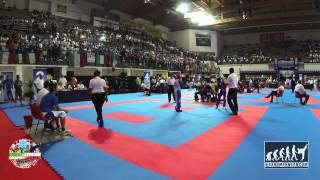 Cory Cook (GBR) v Emanuelle Errico (ITA) Junior WAKO World Championships 2014