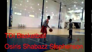 "Osiris Stephenson ""17yrs old (Sr) Manatee High"" - TDI BASKETBALL (PG) 5 Cone Workout"