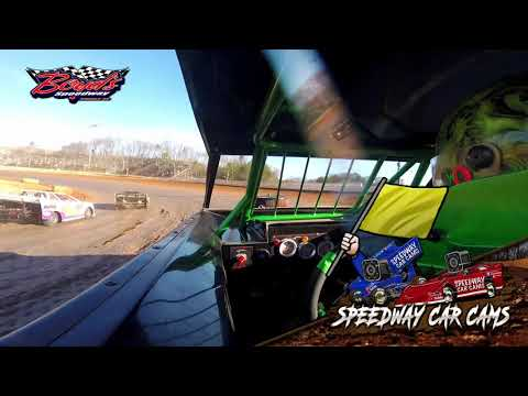 #K0 Caylan Kettle - Mini Stock - 2-2-20 Boyds Speedway Cabin Fever - In-Car Camera