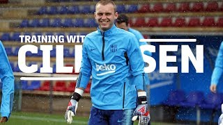 jasper-cillessen-gets-ready-for-the-copa-del-rey-final